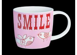 Carnival Smile Pink bone china