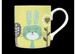 Bunni Sage Green Bone China Mug