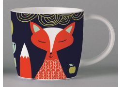 Folkland Foxy Dark Grey bone china