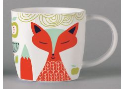 Folkland Foxy White bone china