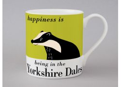 A bone china Yorkshire Dales mug by Repeat Repeat