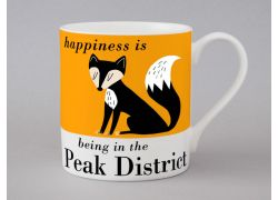 A bone china Peak District mug by Repeat Repeat