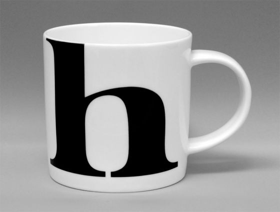 Alphabet Mug Bone China