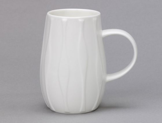 Droplet Wave Bone China Mug